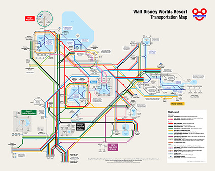 Walt Disney World Resort® Maps